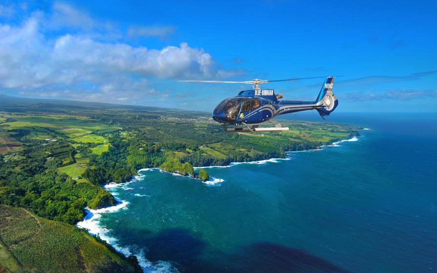直升机旅游观光